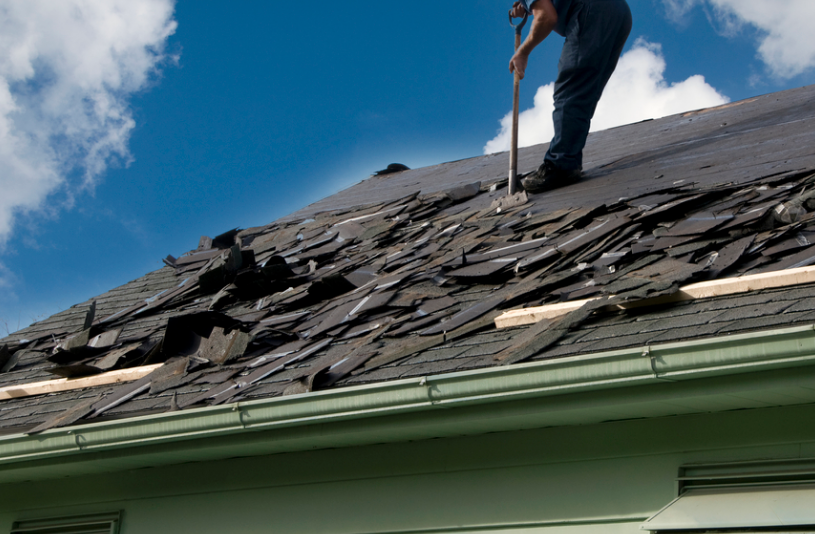 Roof Removal for Commercial Roof Replacement